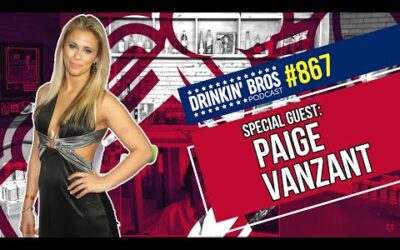 Drinkin' Bros Podcast 867 – Special Guest Paige VanZant