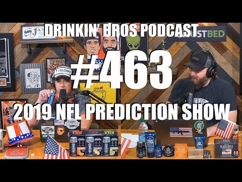 DB #463 – Sports Companion Show 08/13/19 – 2019 NFL Prediction Show