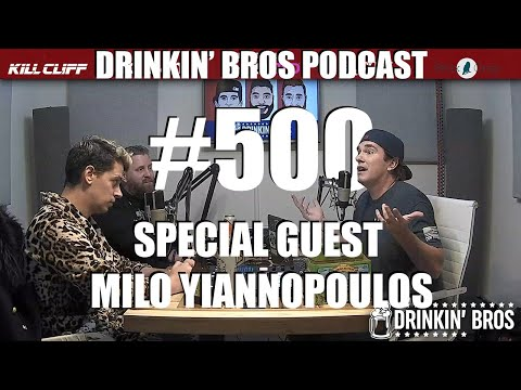 Episode #500 – Special Guest Milo Yiannopoulos