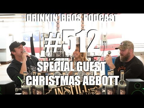 Drinkin' Bros Podcast #512 – Special Guest Christmas Abbott