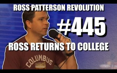 Ross Patterson Revolution #445 – Ross Returns To College