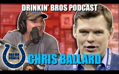 Drinkin' Bros Podcast #594 – Sports Companion 05/05/20 – Special Guest Chris Ballard