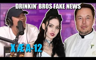 Drinkin' Bros Fake News 50 – Elon Musk's Alien Baby