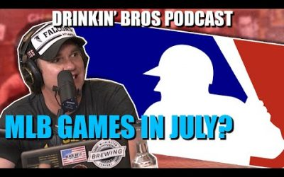 Drinkin' Bros Podcast #599 – DB Sports Companion Show 05/12/20 – MLB Back And NFL 2020 Over/Unders