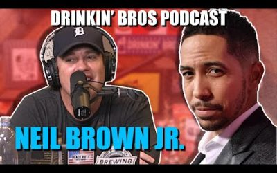 Drinkin' Bros Podcast #601 – Special Guest Insecures Neil Brown Jr.