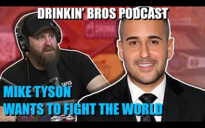 Drinkin' Bros Podcast #607 – Sports Companion 05/26/20 – Jon Anik's Fight Night Predictions
