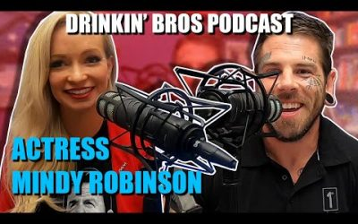 "Drinkin' Bros Podcast #613 – Special Guest ""Range 15"" Actress Mindy Robinson"