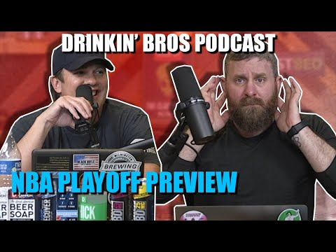 Drinkin' Bros Podcast #620 – Sports Companion 06/16/20 – NBA Playoff Preview Show
