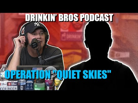 "Drinkin' Bros Podcast #627 - Operation ""Quiet Skies"""