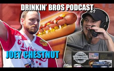 Drinkin' Bros Podcast #630 – Special Guest Joey Chestnut