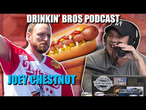 Drinkin' Bros Podcast #630 - Special Guest Joey Chestnut