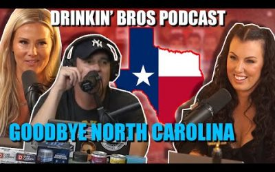 Drinkin' Bros Podcast #631 – Goodbye North Carolina