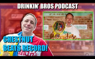 Drinkin' Bros Podcast #631 – Live from Nathan's Famous Hot Dog Eating Contest