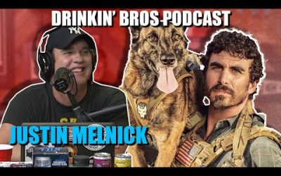 Drinkin' Bros Podcast #637 – Special Guest Justin Melnick