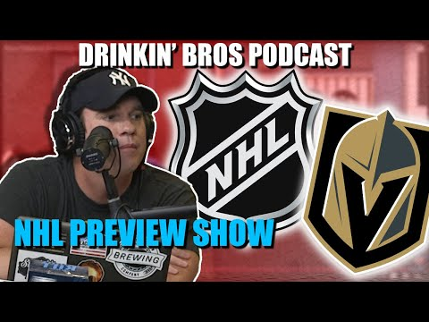 Drinkin' Bros Podcast #644 – DB Sports Companion Show 07/22/20 – NHL Playoff Preview Show