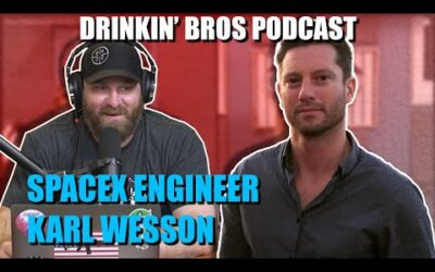 Drinkin' Bros Podcast #649 – Special Guest SpaceX Engineer Karl Wesson