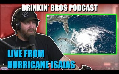 Drinkin' Bros Podcast #650 – Live From Hurricane Isaias