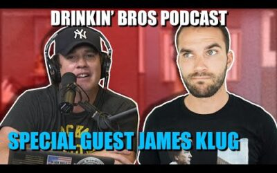 Drinkin' Bros Podcast #655 – Special Guest Street Reporter James Klug