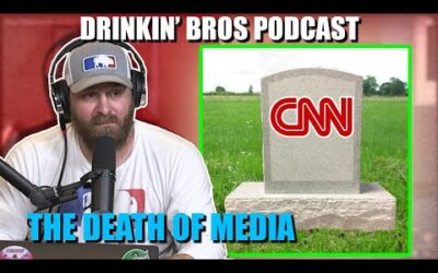 Drinkin' Bros Podcast #657 – The Death Of Mainstream Media