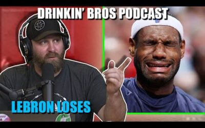 Drinkin' Bros Podcast #659 – DB Sports Companion Show 08/18/20 – Is Lebron James Done?
