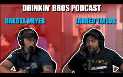 Drinkin' Bros #669 – The Jared Taylor & Dakota Meyer Special