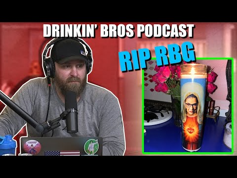 Drinkin' Bros Podcast #677 – The Ruth Bader Ginsburg Tribute Special