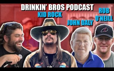 Drinkin' Bros Podcast #678 – Special Guest Kid Rock, John Daly & Rob O'Neill