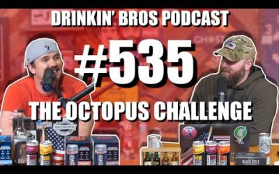 Drinkin' Bros Podcast #535 – The Octopus Challenge