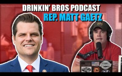 Drinkin' Bros Podcast #681 – Special Guest Rep. Matt Gaetz