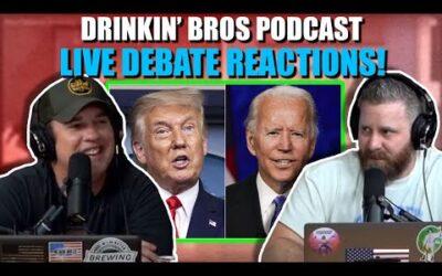 Drinkin' Bros Live Presidential Debate 2020 Reaction Show