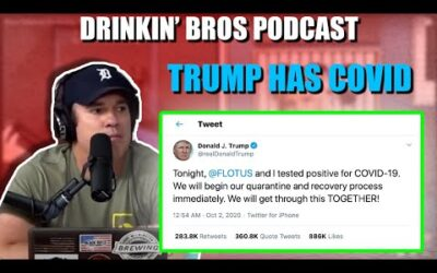 Drinkin' Bros Podcast #687 – The President And First Lady Have Coronavirus