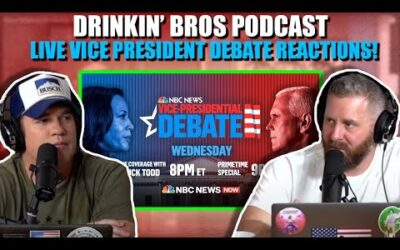 Drinkin' Bros Podcast 2020 Vice Presidential Debate Live Reaction Show