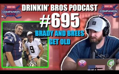Drinkin' Bros Podcast #695 – DB Sports Companion Show 10/13/20 – Brady And Brees Get Old