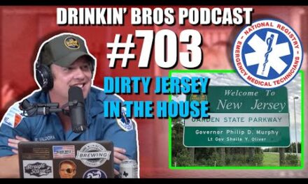 Drinkin' Bros Podcast #703 – Dirty Jersey In The House