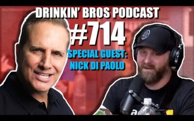 Drinkin' Bros Podcast #714 – Special Guest Nick Di Paolo