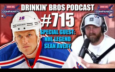 Drinkin' Bros Podcast #715 – Special Guest NHL Legend Sean Avery