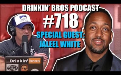 Drinkin' Bros Podcast Episode #718 – Special Guest Jaleel White