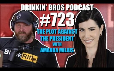 Drinkin' Bros Podcast Episode #723 – The Plot Against The President