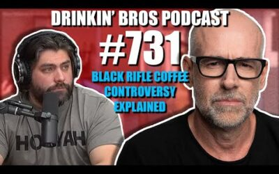 Drinkin' Bros Podcast #731 – Black Rifle Coffee Controversy EXPLAINED