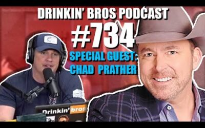 Drinkin' Bros Podcast #734 – Special Guest Chad Prather