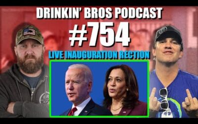 Drinkin' Bros Podcast #754 – Live Presidential Inauguration Reaction Show