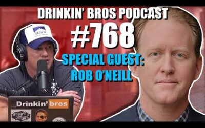 Drinkin' Bros Podcast #768 –  Special Guest Rob O'Neill
