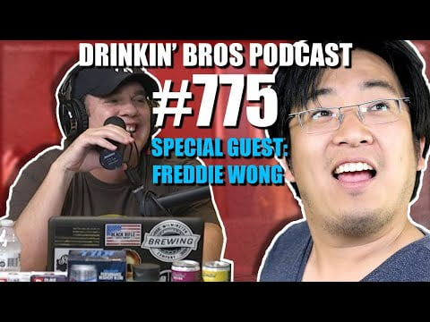 Drinkin' Bros Podcast #775 - Special Guest Freddie Wong