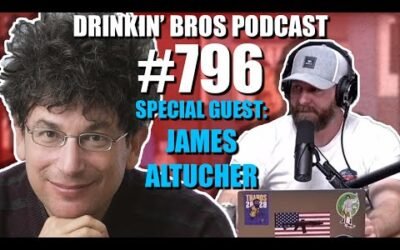 Drinkin' Bros Podcast Episode #796 – The Death Of New York With James Altucher