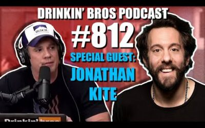 Drinkin' Bros Podcast Episode #812 – Special Guest Jonathan Kite