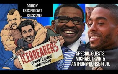Icebreakers Podcast Episode #5 – Special Guests Michael Irvin & Anthony Dorsett Jr.
