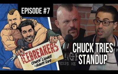Icebreakers Podcast Episode #7 – Chuck Tries Standup