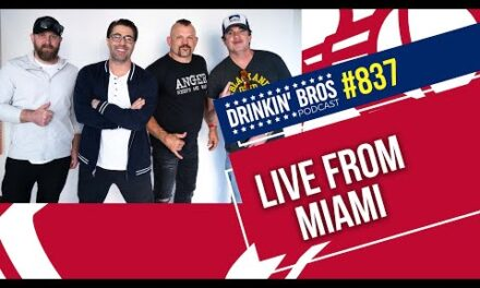 Drinkin' Bros Podcast #837 – LIVE from Miami