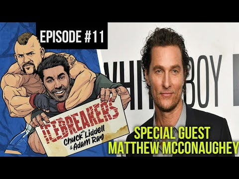 Icebreakers Podcast Episode #11 - Special Guest Matthew McConaughey